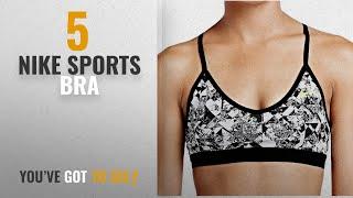 Top 10 Nike Sports Bra [2018]: Nike Women Ho15 White Inner Wear (683354-100-L)