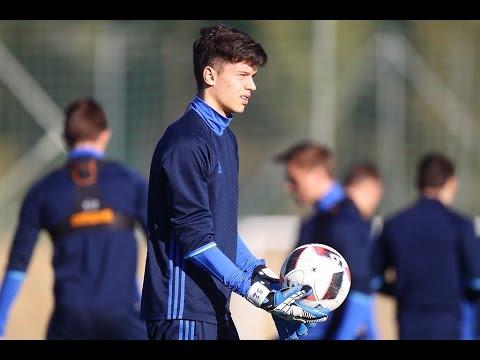 Новий воротар U-19