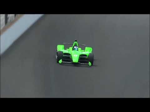Danica Patrick 2018 Indianapolis 500 Qualifying Run