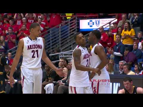 #18 Arizona Routs Sun Devils 73-58 Highlights
