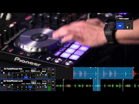 DJ Mos - SERATO DJ x PIONEER DDJ-SR 1 Routine