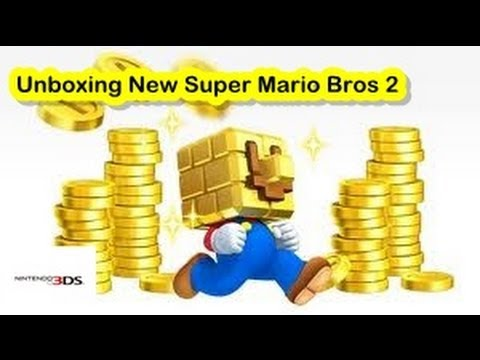 Unboxing New Super Mario Bros.2 [Nintendo 3DS]