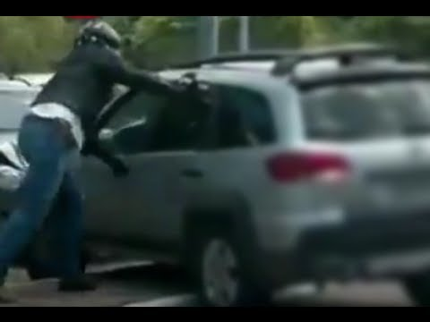 Road Rage Biker vs. Angry Woman - CAR and DRIVER