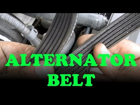 Alternator / Power Steering Belt Replacement Toyota Camry V6 / Lexus ES330