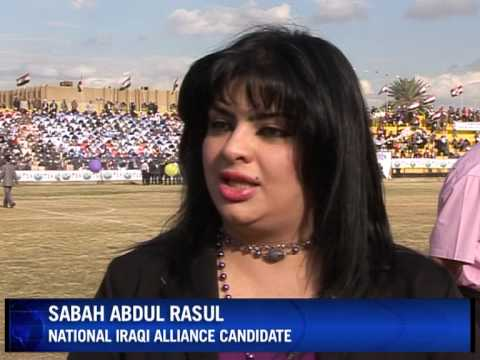 Women candidates drop the veil for Iraq's election