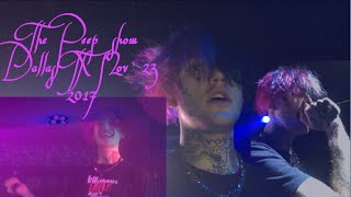 THE LIL PEEP SHOW LIVE 04/23/17 HOUSE OF BLUES DALLAS