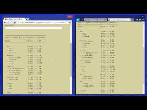 Google Chrome 35 VS Internet Explorer 11 - Javascript Speed Benchmark