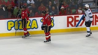 Tkachuk steals Burns