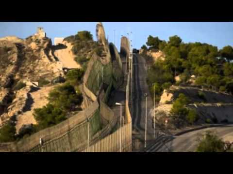 African migrants storm into Spanish enclave of Melilla - 28 February 2014