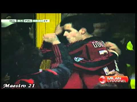 Pippo Inzaghi Goal on Last Minutes vs Palermo 24-02-2008