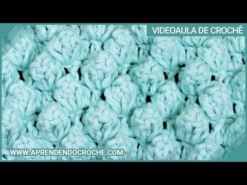 Ponto Pipoca no Croche - Tipo de Pontos no Crochê