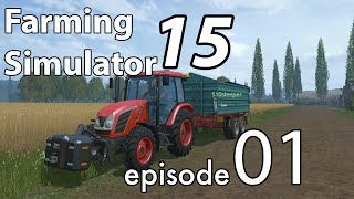 Farming Simulator 15 - Sosnovka Multiplayer - EP:1