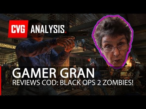 Gamer Gran Reviews COD: Black Ops 2 Zombies!