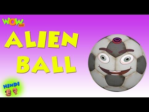 Alien Ball - Motu Patlu in Hindi - 3D Animation Cartoon for Kids -As seen on Nickelodeon thumbnail