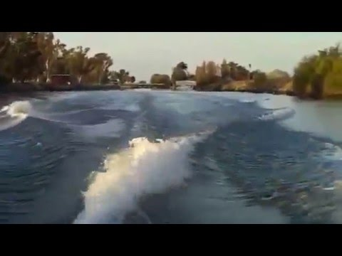 Sanger V215 @ 23mph presented by Marine Specialties