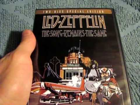 Led Zeppelin The Song Remains The Same (Two Disc Special Edition) Unpackaging