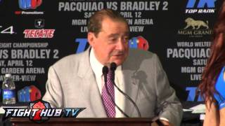 Pacquiao vs. Bradley 2: Full post fight press conference video