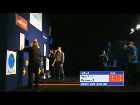 "Phil Taylor ""cheating"" Incident - Double Twelve - Better Quality + Sound"