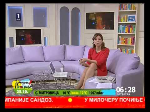 Maja Nikolic Japundza 25.10.2012 video