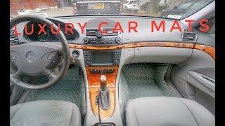 Upgrading My Car's Interior With Diamond Car Mats (Mercedes-Benz w211)