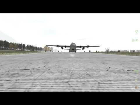 ArmA 2 DayZ Mod: The C130 Close Call