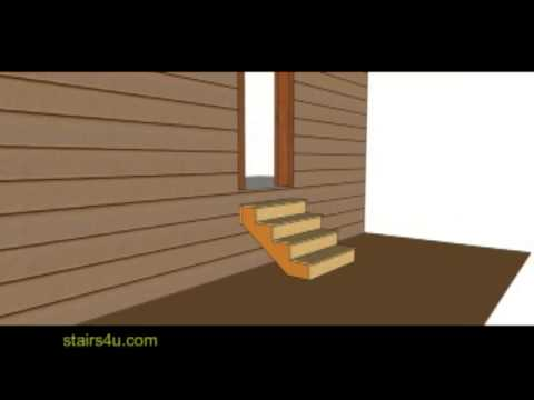 Height Of Landing Or Stairway At Exterior Door Building