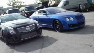 Visiting West Coast Customs - Monster Bentley, Vette.I.Am, Ryan's Dodge Charger & More