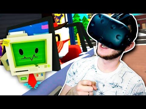 МАСТЕР НА ВСЕ РУКИ!   Job Simulator (HTC Vive VR)