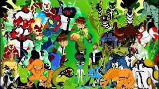 Ben 10 - All Transformations (Updated)