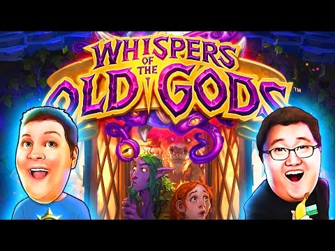 WHISPERS OF THE OLD GODS EXPANSION | Hearthstone Decks & Cards | Squadron Hearthstone Gameplay