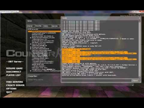 CS:S exploit by Simple999. взлом ксс в34 сервера.avi.