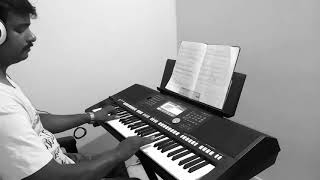Jai Bharata jananiya tanujate Kannada Nada geet played by Krishna keyboard player