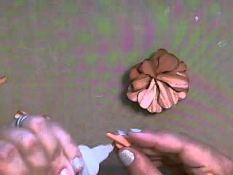 How to Make a Paper Rose Using