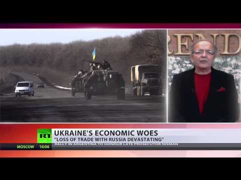 Ukraine economy in free fall - inflation, energy tariffs soar