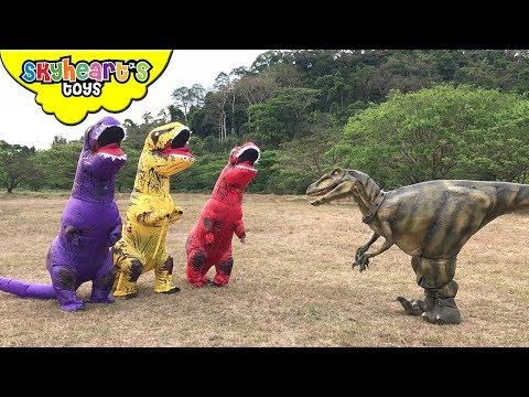 GIANT RAPTOR vs Toddler: Part 3 (Final Battle) | Skyheart calls power dinos jurassic world dinosaurs
