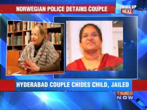 Indian couple detained in Oslo