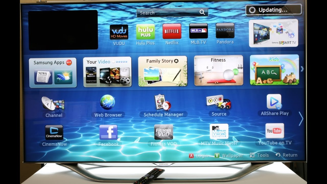 Samsung Smart tv 7000 Samsung Smart Led tv Reset