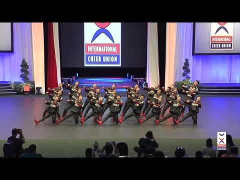 今宮高校ダンス部 2016アメリカ遠征 Team Cheer HipHop部門で2位