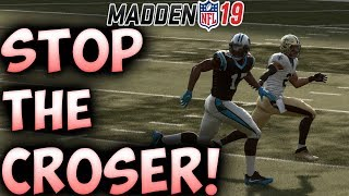 The BEST Defense to stop the Crossing Route! | Madden 19 Tips