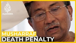 What does Musharraf's death sentence mean?