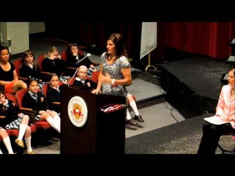 Excerpt of Sarah Plummer's Keynote Graduation Speech to the Columbus School for Girls May 2012
