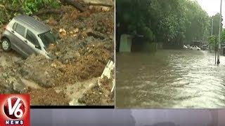 Heavy Rains Lash Mumbai City | Local Trains Running Late, Traffic Jam