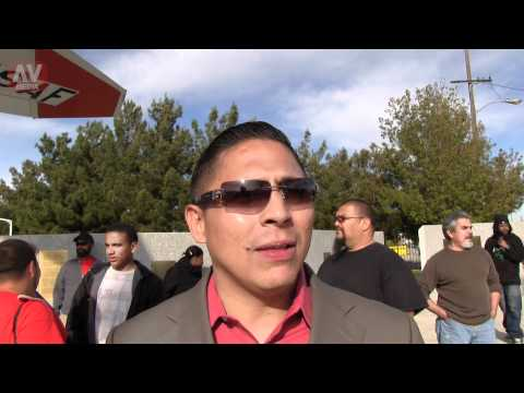 Dr. Miguel LASD involved shootings - Trayvon Martin March for Solidarity