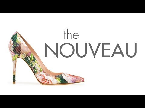Kate Moss Wears The Nouveau Pump | Stuart Weitzman Spring 2014 Collection