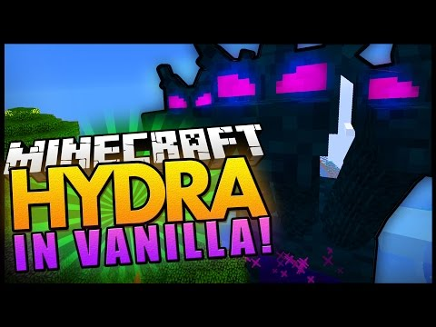 Minecraft | The Hydra! - a New Vanilla Boss!? | No Mods - Custom Vanilla Minecraft Mob video