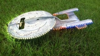 RC Star Trek Enterprise with 351 LED Lights Night Flying
