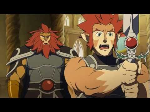 Thundercats 2011 Clip 1 - Lion-o Learns To Use The Sword Of Omens video