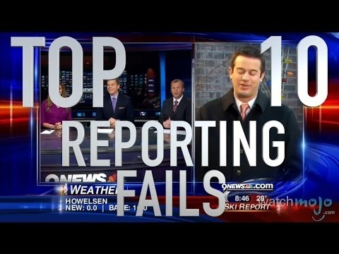 Top 10 News Reporting Fails Quickie