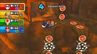 Mario Party 9 Gamplay: Magma Mines!!