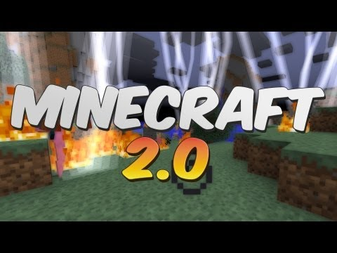 Minecraft 2.0 Showcase - Mojang April Fools 2013!